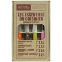 Coffret OPINEL - Les Essentiels du Cuisinier - 4 Couleurs boite fermé