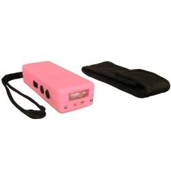 Poing électrique 1 000 000 V rechargeable - mini + LED - Rose