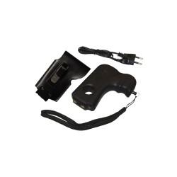 Poing électrique - Pistolet Police Security rechargeable + 2 leds
