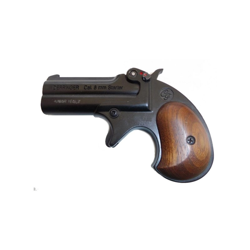 Arme d alarme KIMAR - Derringer noir Cal. 6mm