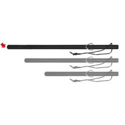 Bâton caoutchouc ( 65 cm )