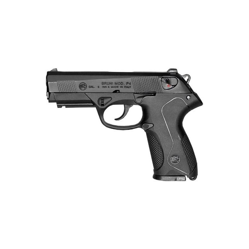 Pistolet alarme BRUNI Mod. P4 noir Cal. 9mm