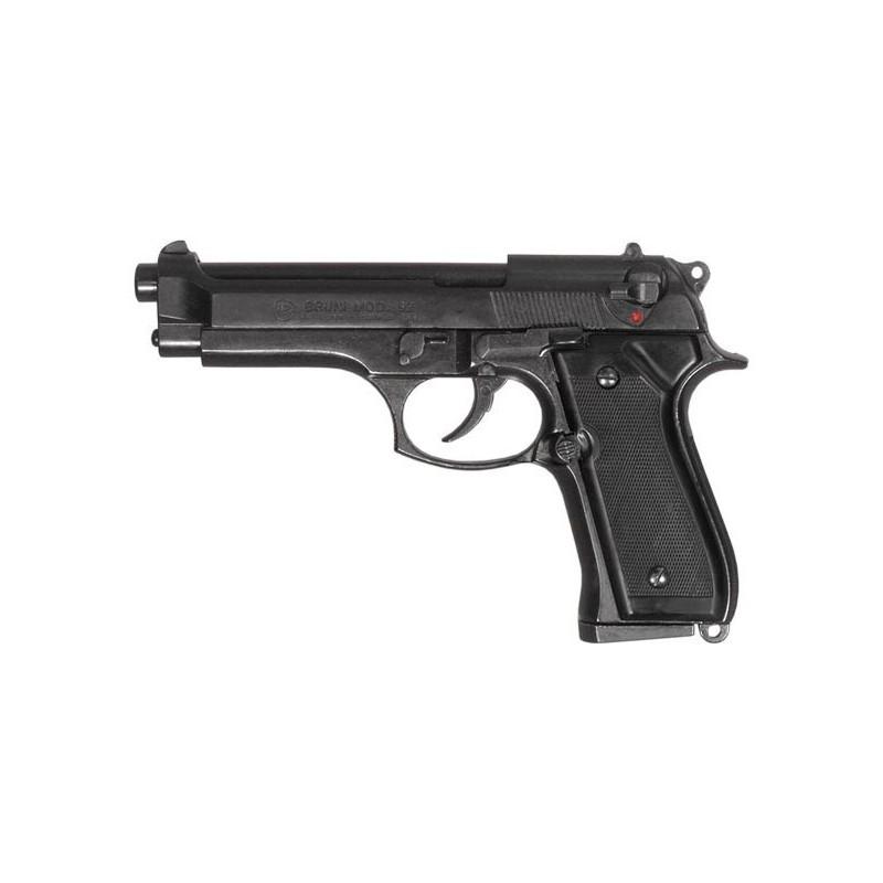 Pistolet alarme BRUNI Mod. 92 noir Cal. 9mm