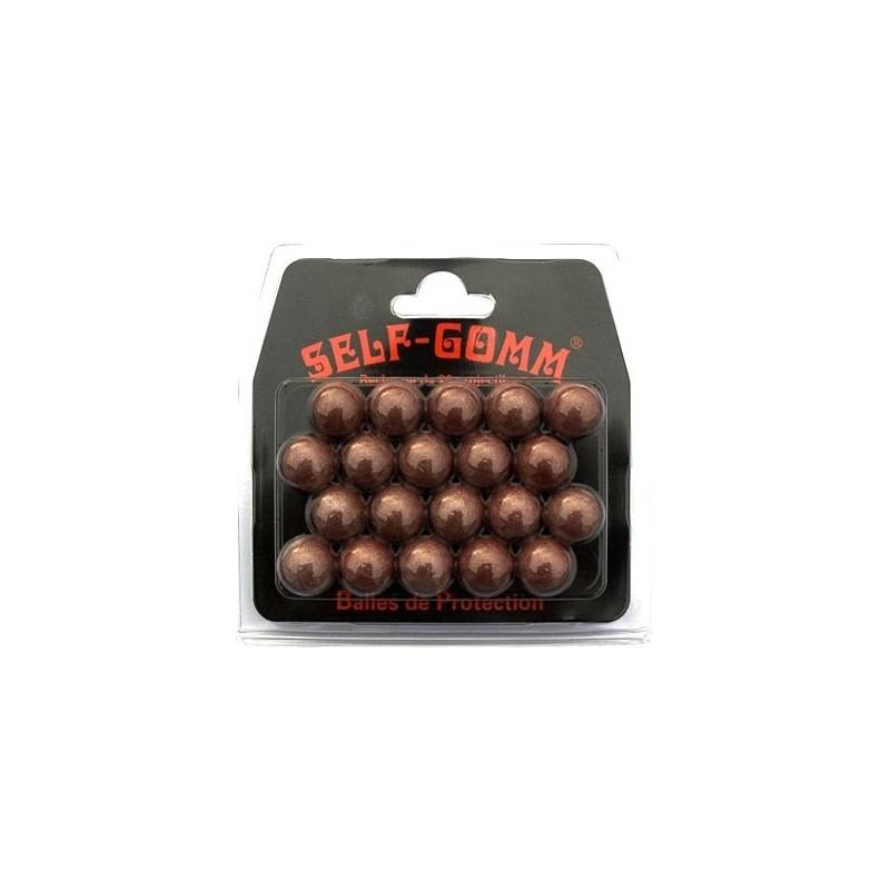 Lot de 20 balles caoutchouc pour adaptateur SELF-GOMM