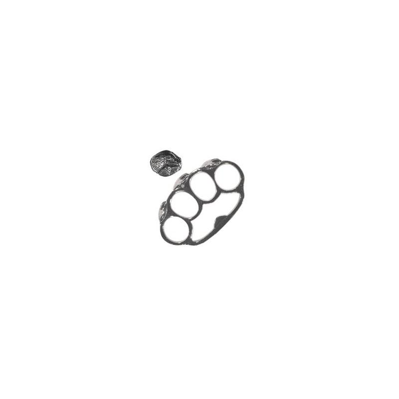 Poing américain Blason Aigle - bronze